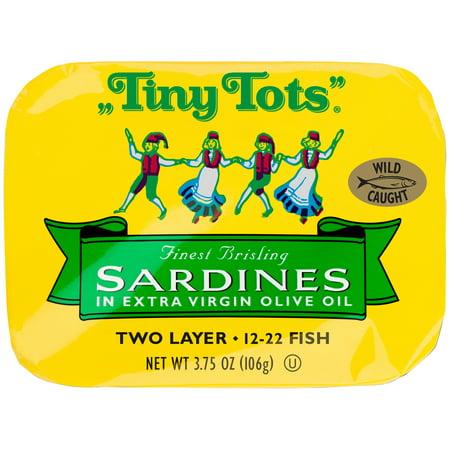 King Oscar Finest Brisling Sardines  3 75 Oz