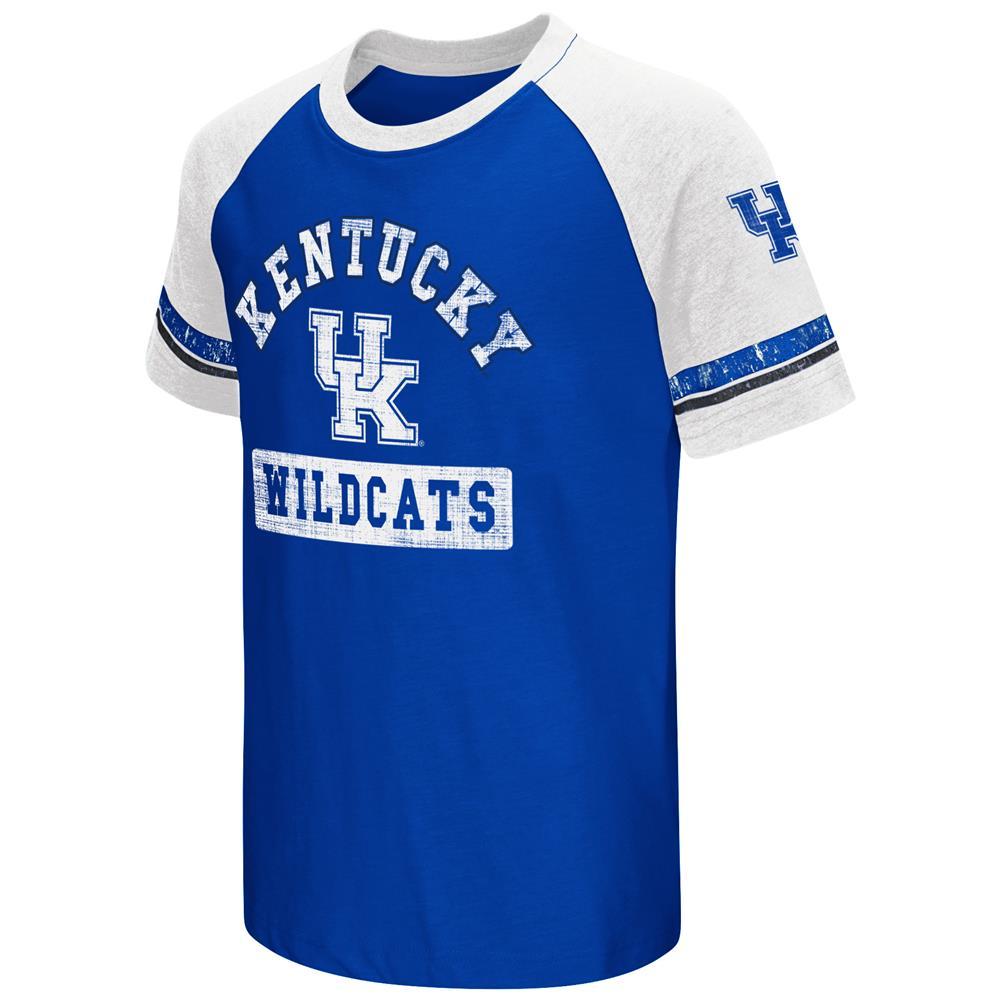 Youth Short Sleeve Kentucky Wildcats UK Graphic Tee