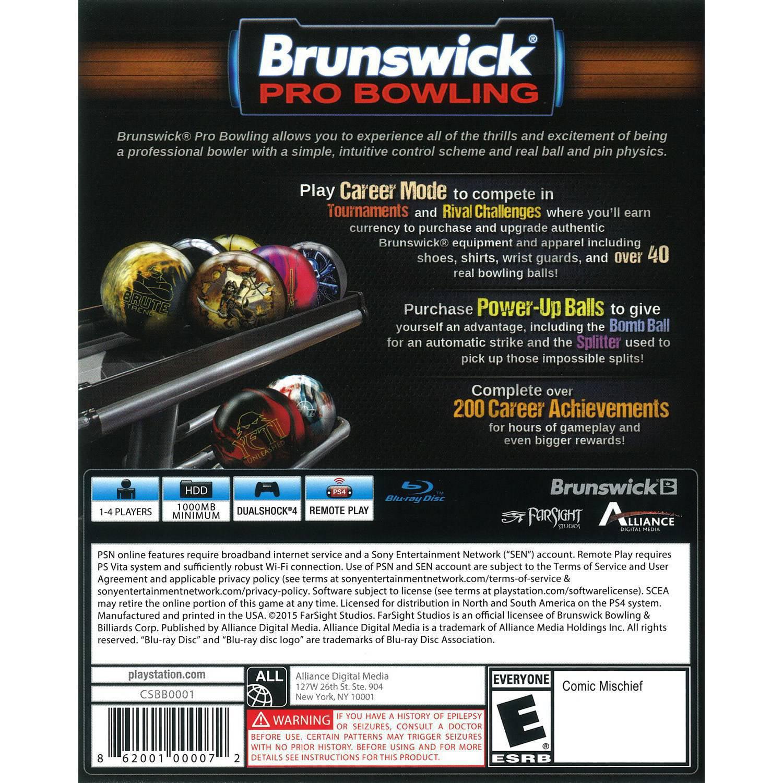 New Brunswick Bowling >> Brunswick Bowling Ps4
