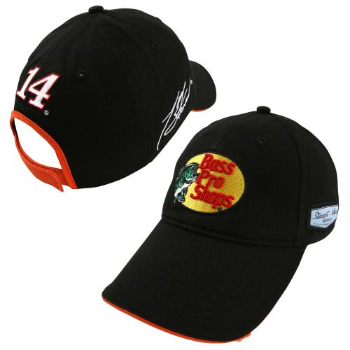 Chase Authentics Tony Stewart Bass Pro Shops Official Pit Cap - Black - OSFA