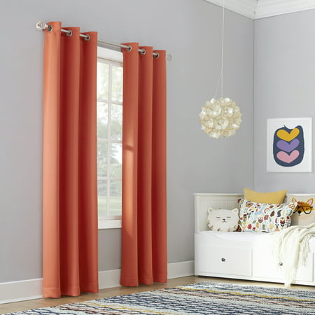 Sun zero riley kids bedroom blackout grommet curtain panel - Childrens bedroom blackout curtains ...