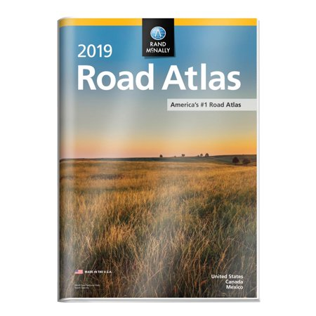 Rand mcnally 2019 road atlas with protective vinyl cover: 9780528019623 (Catalan Atlas)
