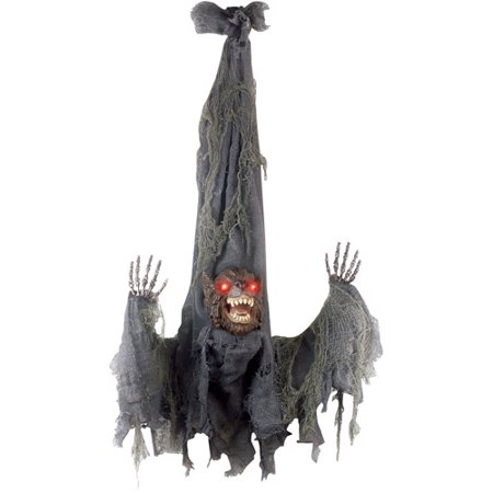 3' Animated Slashing Werewolf Halloween Decoration
