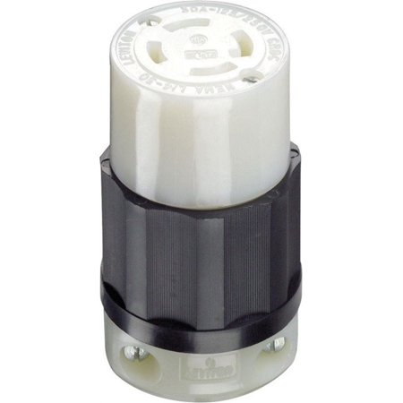 leviton industrial nylon curved blade locking connector. Black Bedroom Furniture Sets. Home Design Ideas