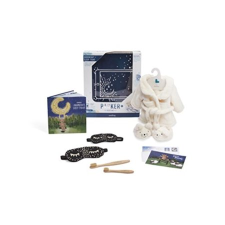 Seedling The Bedtime Kit for Parker The Bear | Add On Activity for Toddlers Ages 36 ()