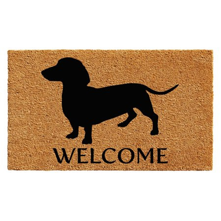 Calloway Mills Dachshund Outdoor Doormat, Multiple Sizes
