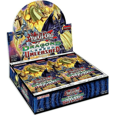 - YuGiOh Dragons of Legend Unleashed Booster Box [24 Packs]