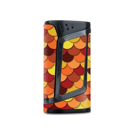 Skin Decal Wrap for Smok Alien 220W TC stickers Red (Best Atomizer For Alien 220w)