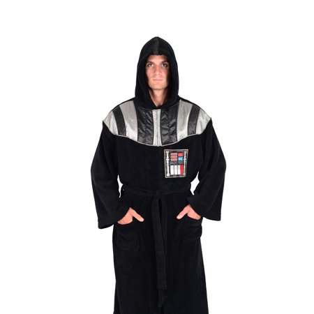 Disney Star Wars Officially Licensed Adult - Men's And Women's - Fleece Robes - Jedi Bathrobe