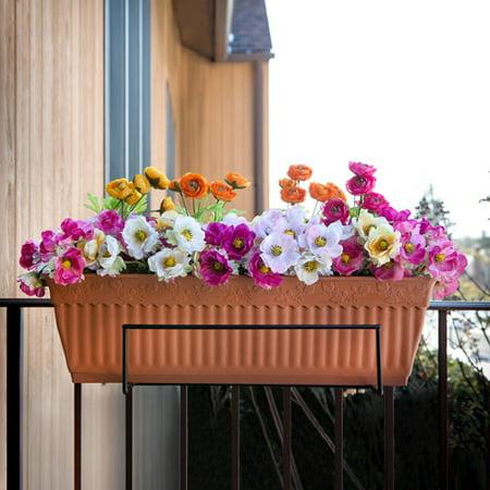 Sun Joe Flower Box Holder  Black