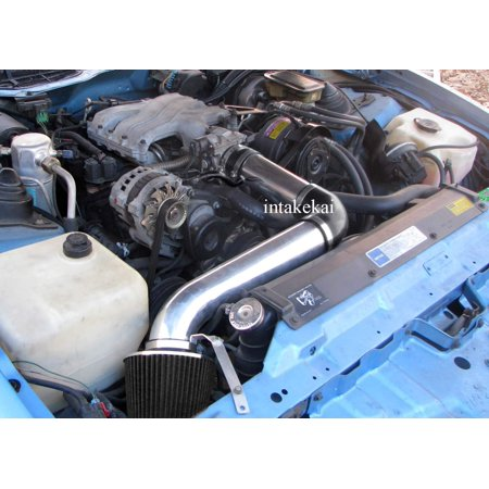 1990 1991 1992 Pontiac Firebird 3.1 3.1L TPI V6 Engine AIR INTAKE KIT SYSTEMS  (BLACK)