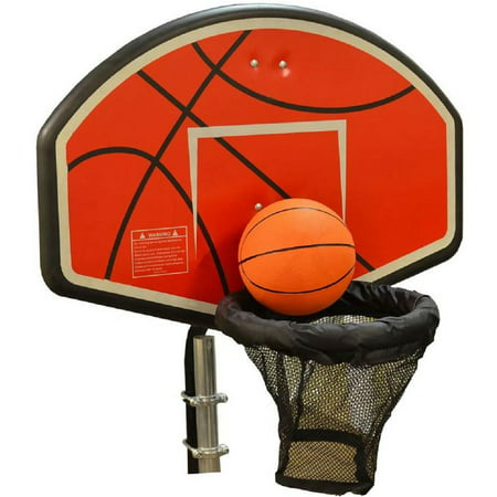 JumpKing Trampoline Basketball Hoop with Attachment and Inflatable