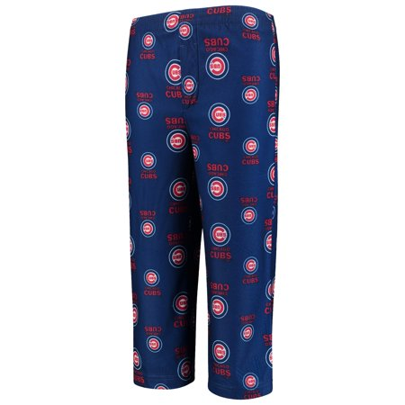 Chicago Cubs Youth Allover Pants - Royal