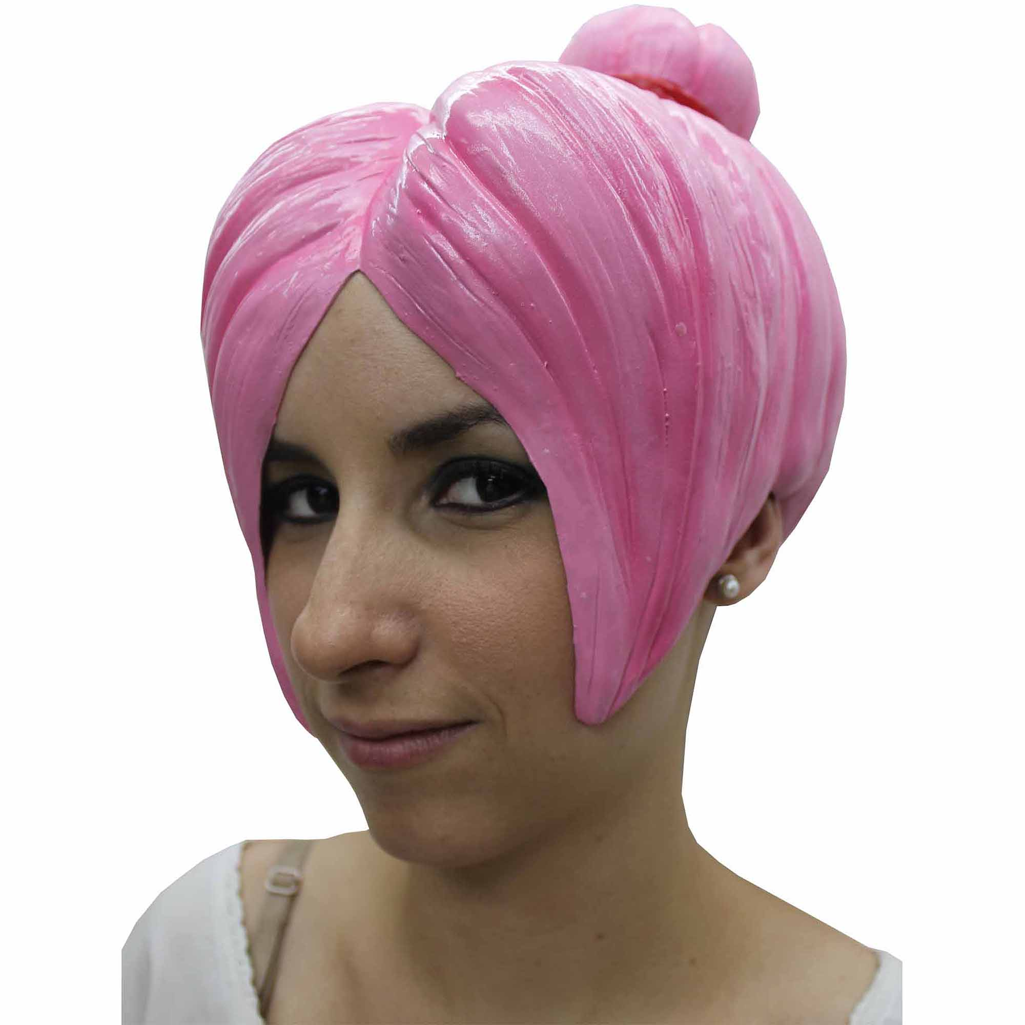 Pink Anime Wig 4 Latex Adult Halloween Accessory