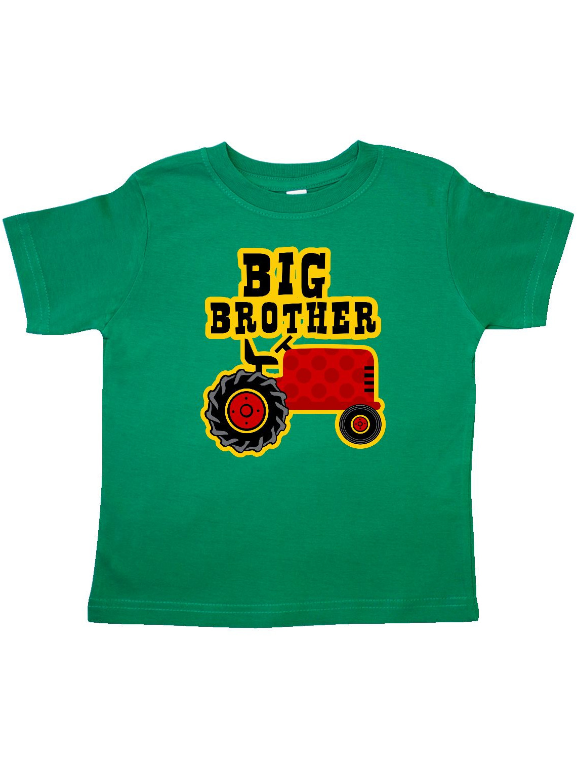 Red Tractor Big Brother Toddler T-Shirt