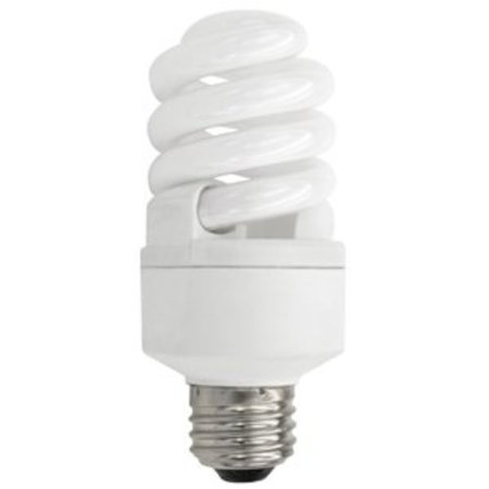 TCP 40114 Single Spiral 14 Watt 5in Tall 2700K CFL Spiral Bulb with 270� Beam Spread and Medium (E26) (Best Price Fluorescent Bulbs)