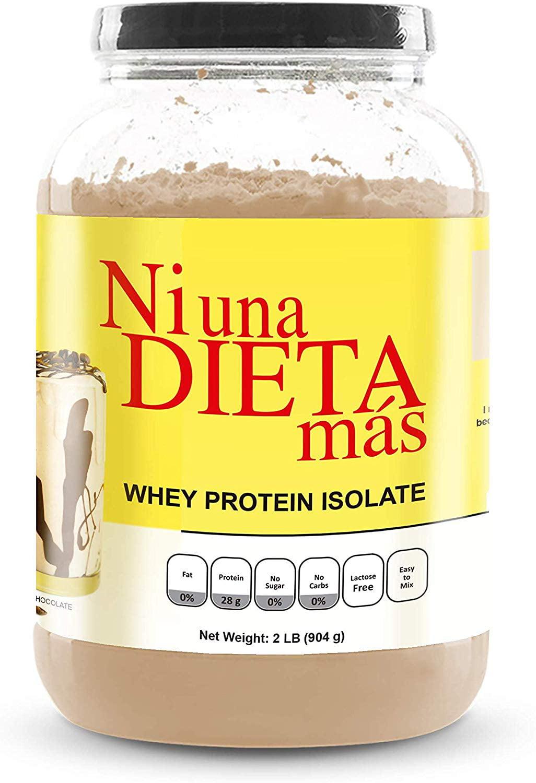 Ni Una Dieta Mas Whey Protein Isolate Delicious Chocolate No Sugar No Lactose Easy To Mix Walmart Com Walmart Com