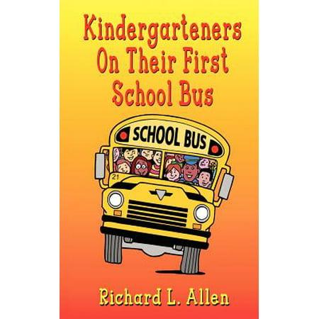 Kindergarteners on Their First School Bus](Great Halloween Books For Kindergarteners)