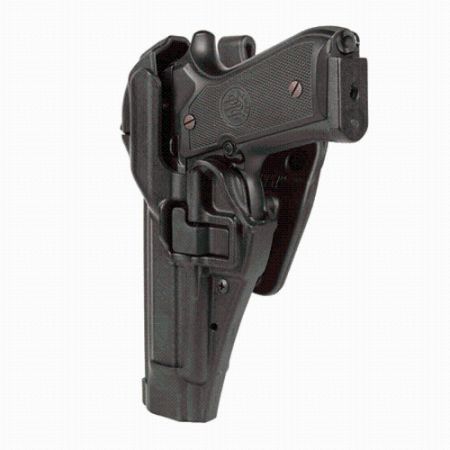 BLACKHAWK! Serpa Level 3 44H117BK-R Holster Heckler & Koch P30 Black