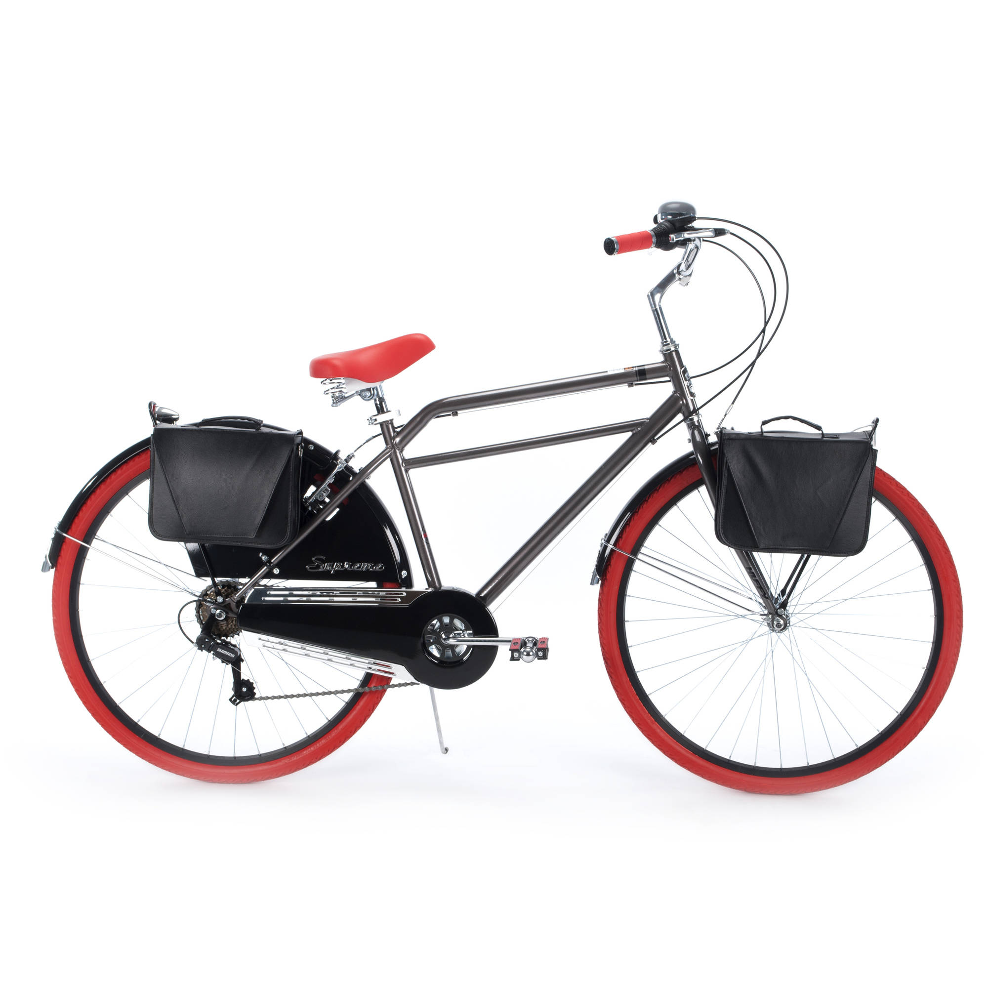 700c Huffy Supreme Men's Cruiser Bike, Charcoal