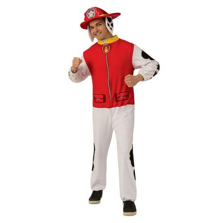 Marshall Lee Halloween Costumes (Halloween Paw Patrol Marshall Adult Jumpsuit)