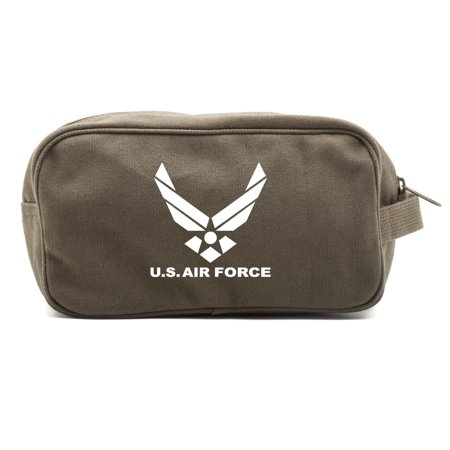 Travel Aid Bag (US Air Force Canvas Shower Kit Travel Toiletry Bag Case)