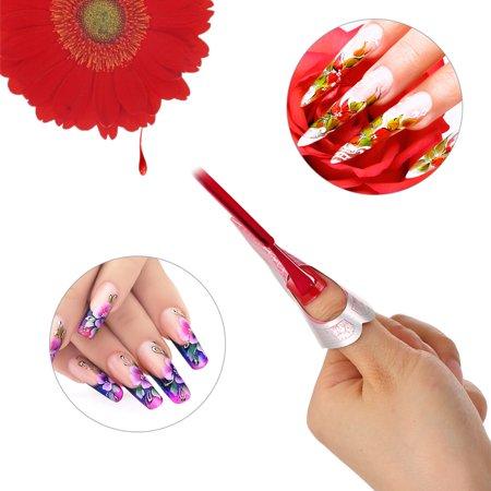 100pcs ongles forme autocollant ongles astuce pour acrylique UV gel ongles Guide d'extension forme auto-adhésive manucure bricolage outil - image 3 of 7