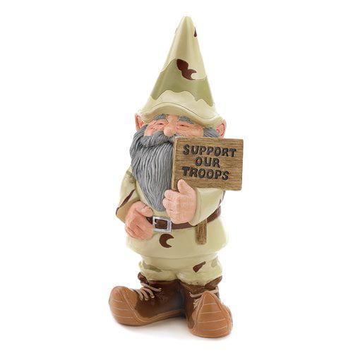 Zingz & Thingz Trooper Garden Gnome Statue by Zingz & Thingz