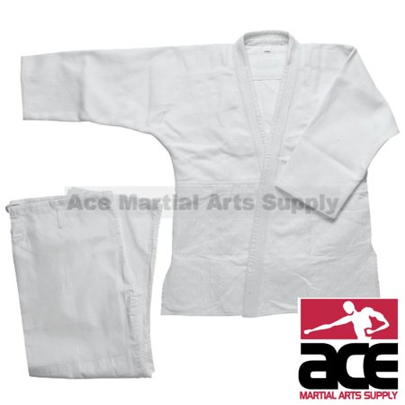 Double Weave Judo Gi - White Double Weave Judo Uniform