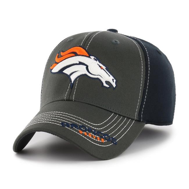 Fan Favorites F-MCRNB10CFE-BK NFL Denver Broncos Mass Cornerback Cap - Black