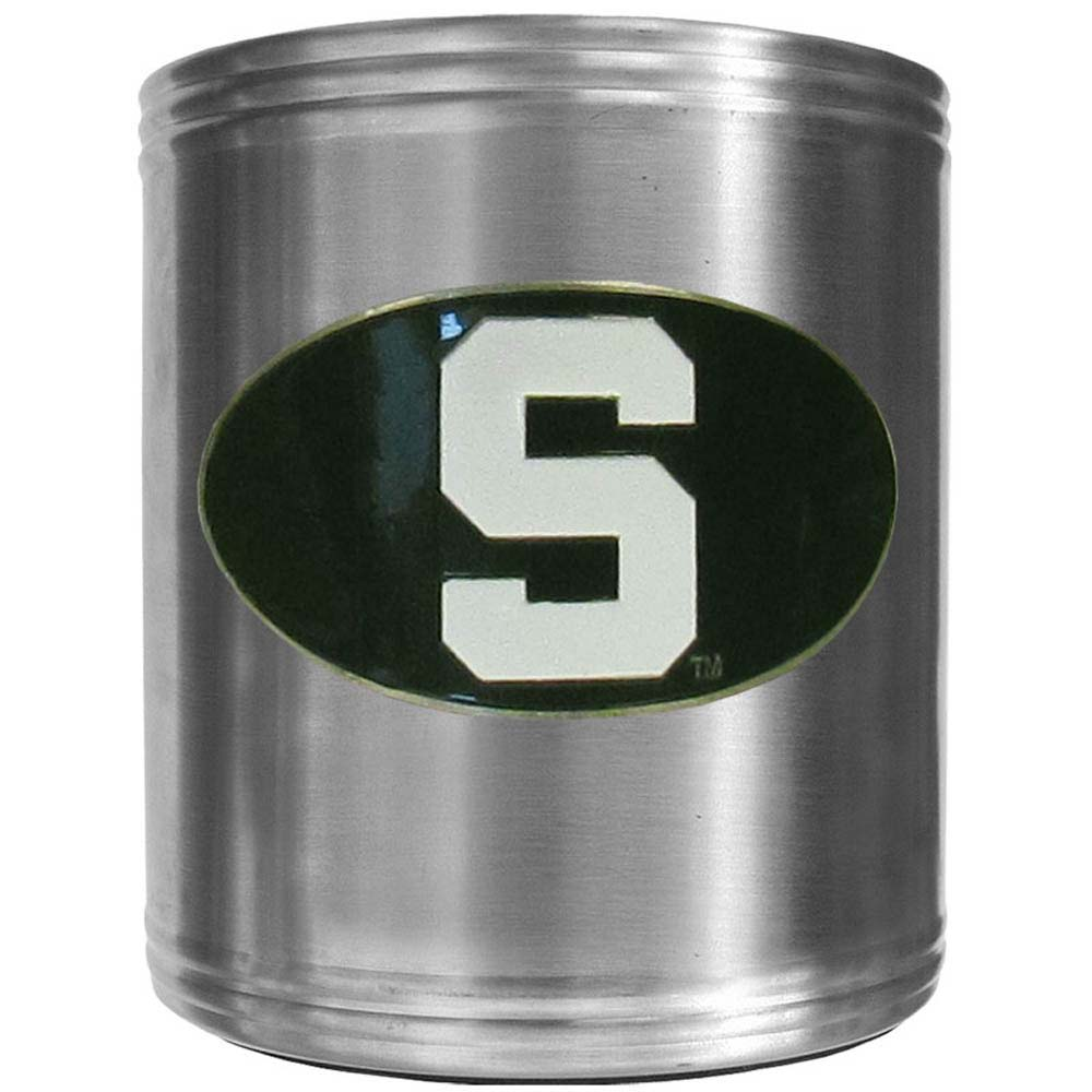 Michigan State Spartans Steel Can Cooler (F)