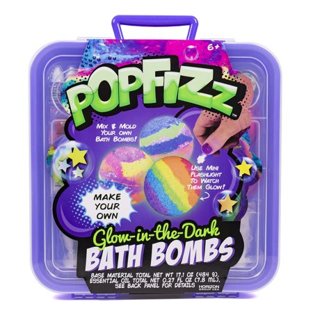 Popfizz Ultimate Glow in the Dark Bath Bombs Kit, 1 Each