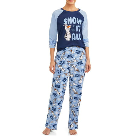 Matching Family Pajamas Disney's Frozen 2 Women's and Women's Plus 2-Piece Sleep Set
