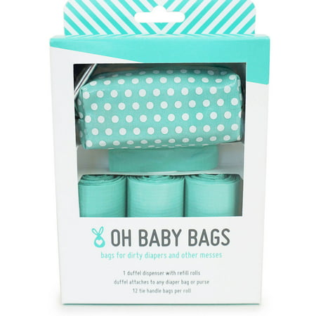 Oh Baby Bags Diaper Bag Clip On Dispenser Gift Box With