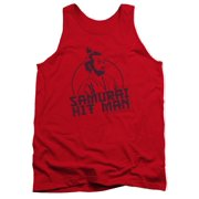 Saturday Night Live Men's  Hitman Mens Tank Red