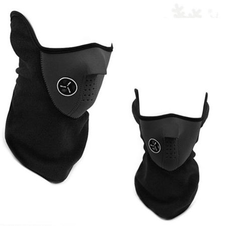 Motorcycle Cycling Balaclava Ski Half Face Mask Under Helmet Neck Warmer (Cycling Warmers)