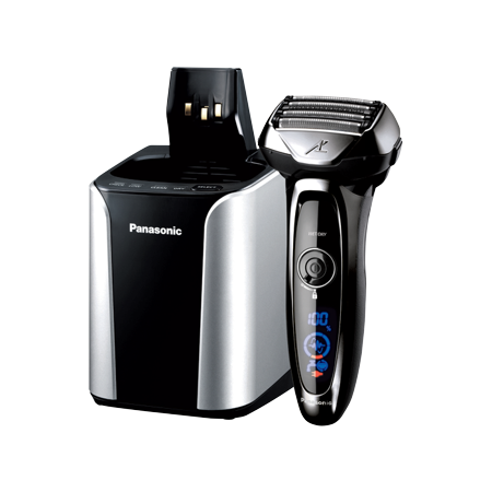 Panasonic ES-LV95-S ARC5 Premium 5-Blade Men's Electric Shaver, Wet/Dry, with Automatic Cleaning & Charging