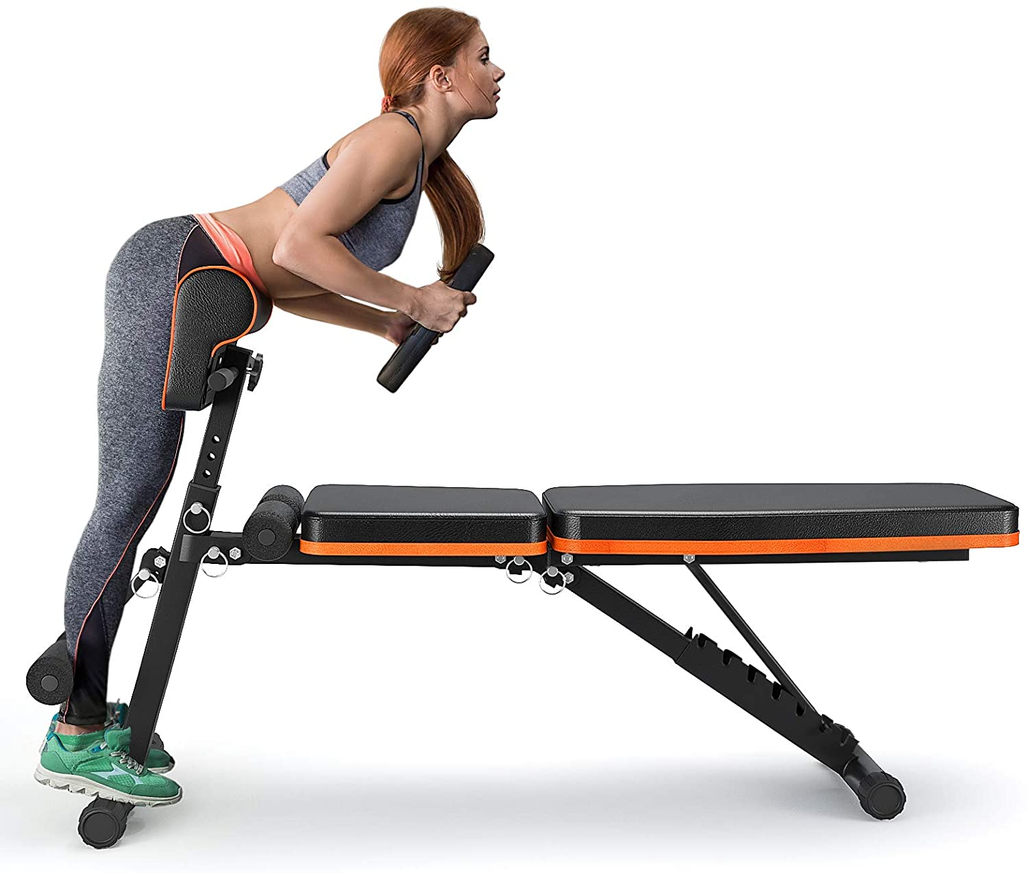 FLYBIRD Weight Lifting Bench Flat Incline Decline Fitness Workout Home Gym