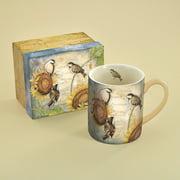 Lang 14 oz. Sunflower Birds Mug