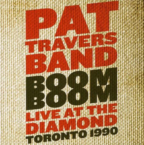 Pat Travers - Boom Boom: Live at the Diamond 1990 [CD]
