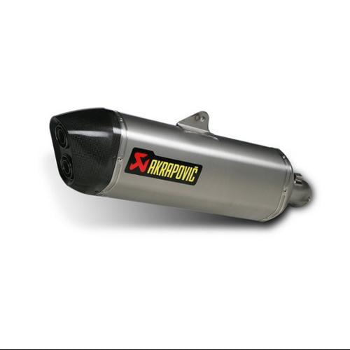 Akrapovic Slip-On Line W/Hexigonal Muffler Titanium/Titanium/Carbon Fits 09-13 BMW K1300S