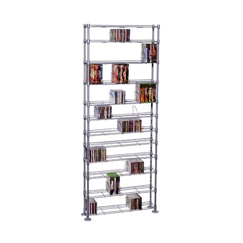 Atlantic Max Steel 11 Tier Media Rack by ATLANTIC, INC.