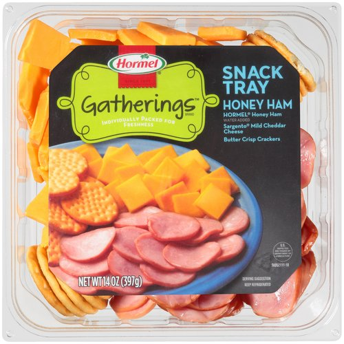 Hormel Ham, Cheese & Crackers Snack Tray, 14.7 oz