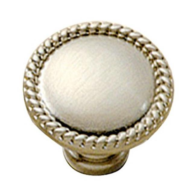 Belwith Bwp403 15 1-.50 In. Knob - Solid Brass-Pewter