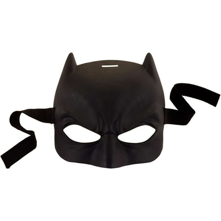 DC Justice League Iconic Batman Mask with Elastic Strap - Batman Mask