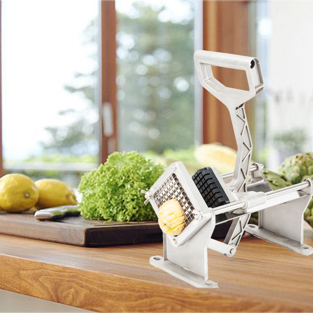 UBesGoo Commercial French Fry Cutter Fruit French Fries Vegetable Cutter