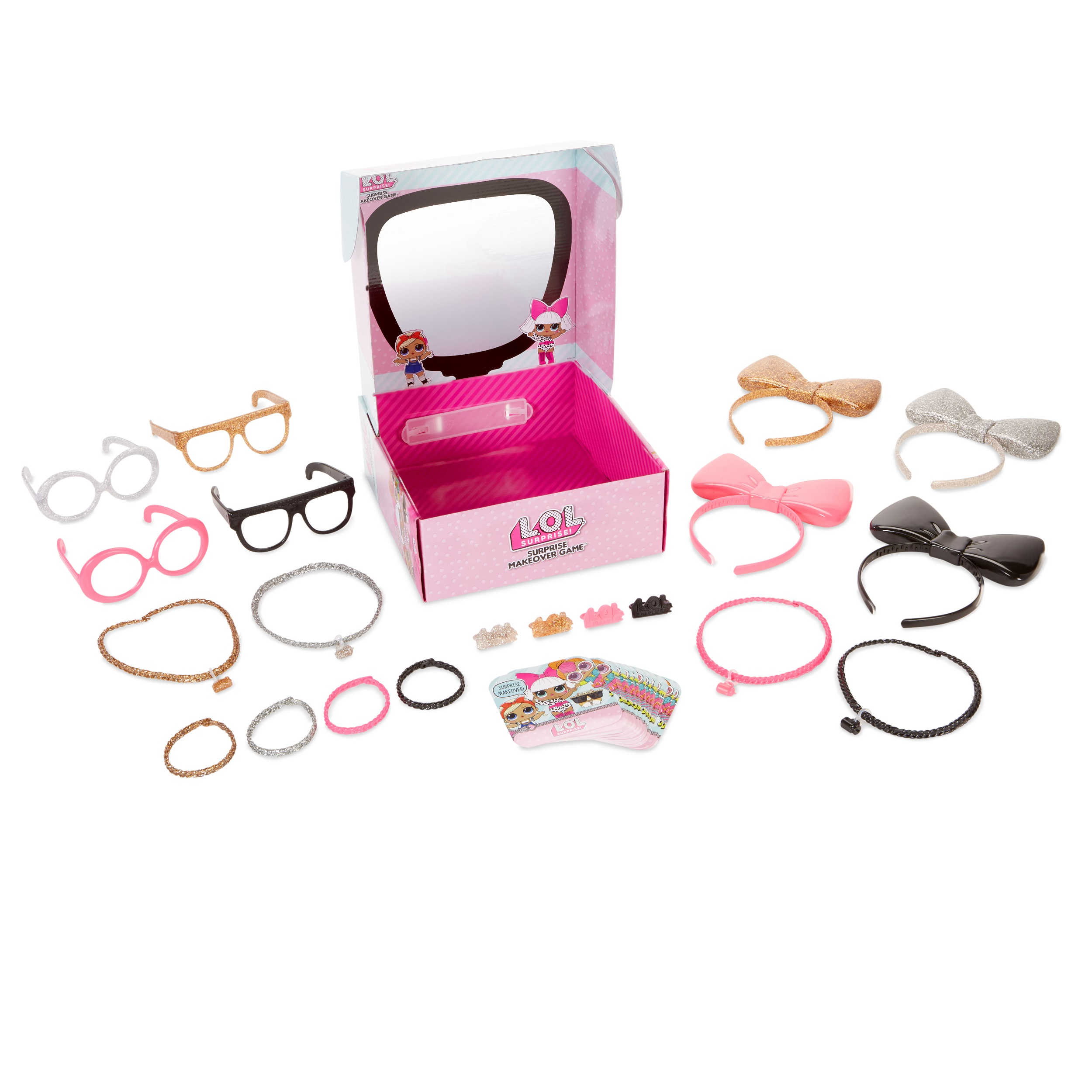 L.O.L. Surprise: Makeover Game with 20 + Exclusive Accessories