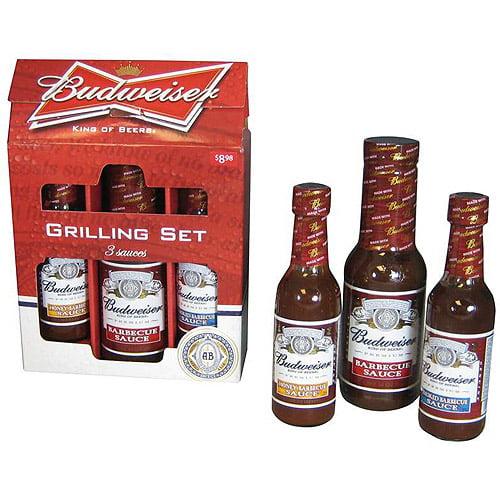 Budweiser Sauce Gift Set, 3 ct