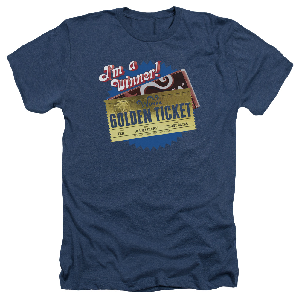 Trevco Charlie and the Chocolate Factory Golden Ticket Me...