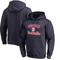New York Red Bulls Fanatics Branded Victory Arch Pullover Hoodie - Navy